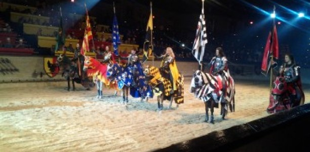 WINNER UPDATE! G!veaway: How would you like Dinner and an Action Packed Medieval Show?