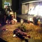 kids & fireplace