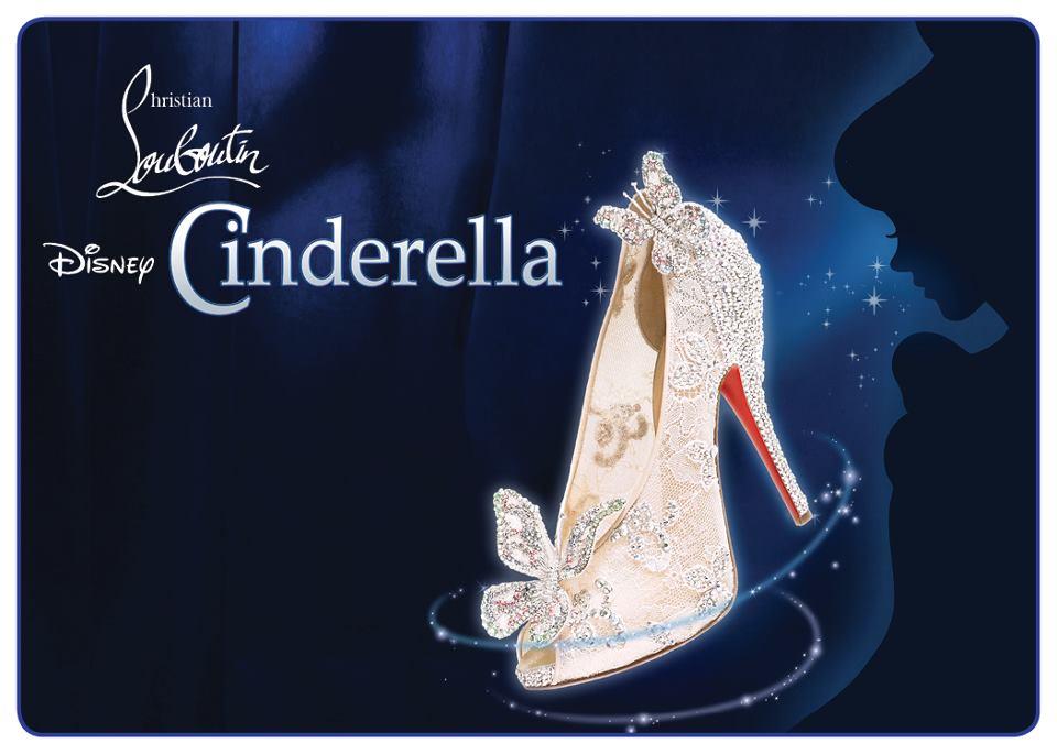 Christian Louboutin Cinderella Wedding Shoes