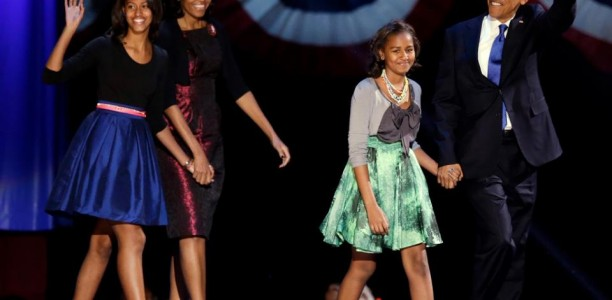 The Obama Girls are Back! Barack Obama secures four more years and it'll be the toughest years for his maturing daughters