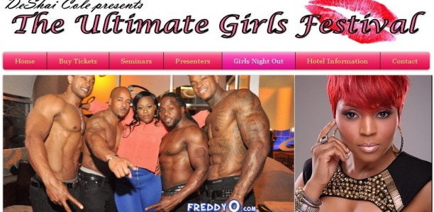 G!veaway: Hey Ladies! Men, muscles and your presence is a must at the Ultimate Girls Fest by @TheRealDeshai