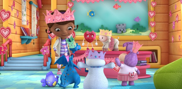 Have a Heart this Valentine's Day with your favorite darling, Doc McStuffins