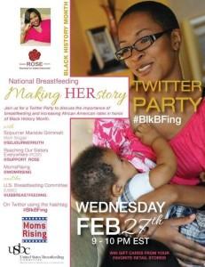 Breastfeeding Twitter Party