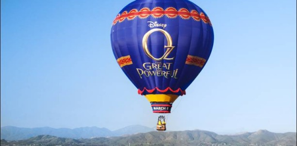 "The ""Journey to OZ Balloon Tour"" Takes To the Skies for Disney's OZ THE GREAT AND POWERFUL"