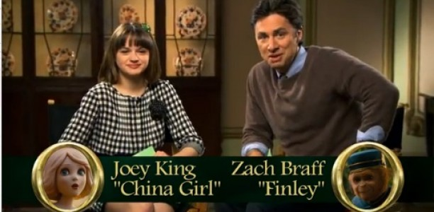 OZ THE GREAT AND POWERFUL – Hilarious New Video Interview! #DisneyOz