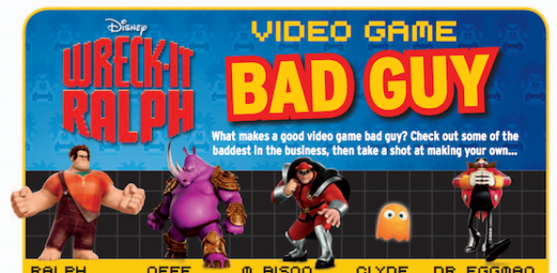 Test Your Wreck-It Ralph Skills!? Game on! The Blu-ray DVD has been released!