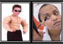 He wants muscles. She wants make-up. My kids are growing up too fast for me