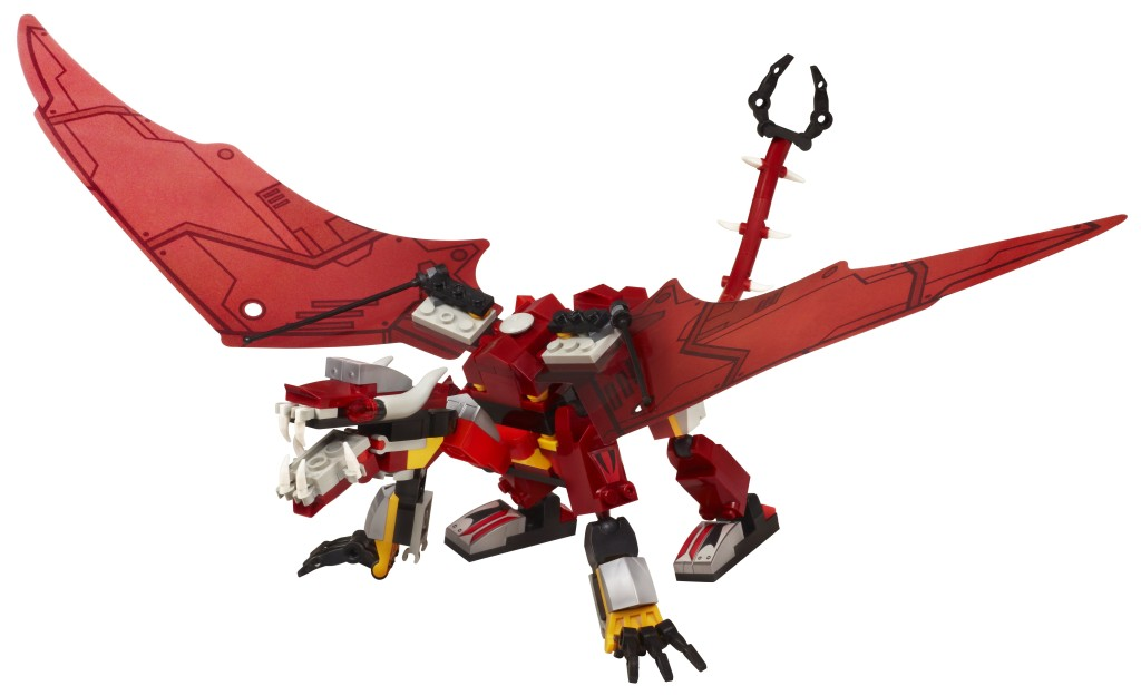KRE-O TRANSFORMERS RIPCLAW STRIKE Set - Dragon Mode