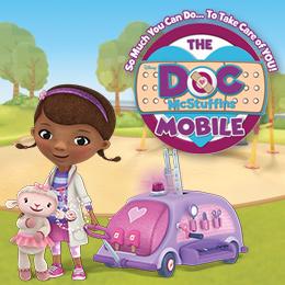 Doc Mcstuffins bus