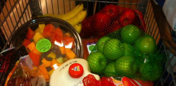 Teaching kids how to shop for healthy foods #HealthyLiving