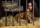TLC'S @OfficialChilli Strips to Stripes for @PETA'S new Anti-Circus Campaign