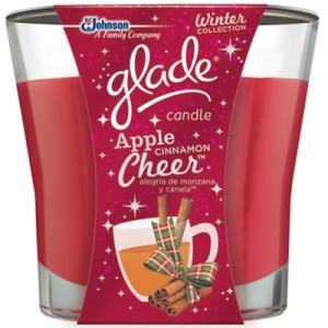 Glade Candle (Apple Cinnamon Cheer)