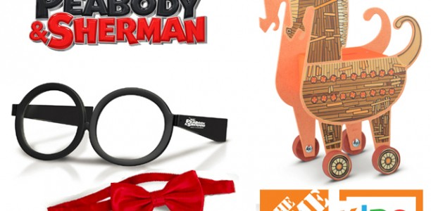 Win a #MrPeabody and Sherman Prize Pack! Movie hits theaters March 7th!