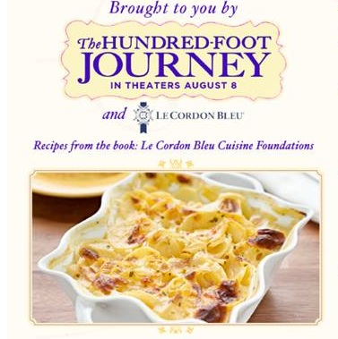 The hundred foot journey u scalloped potatoes recipe with le cordon bleu cuisine foundations - Le cordon bleu cuisine foundations ...