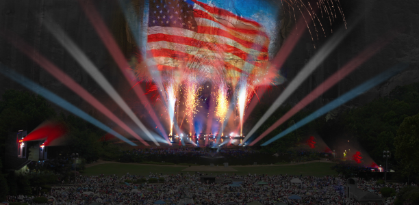 Stone Mountain has an all-new Lasershow and we're invited to the party! #BlogLaser14