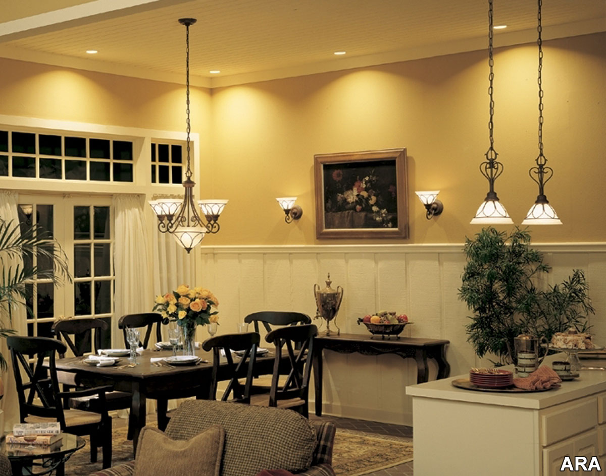 Shining Bright Choosing The Right Lighting For Your Home