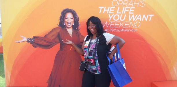 @Oprah's O-Town Power Breakfast with @CarlaHall! #LifeYouWantATL #BringIt @Bounty