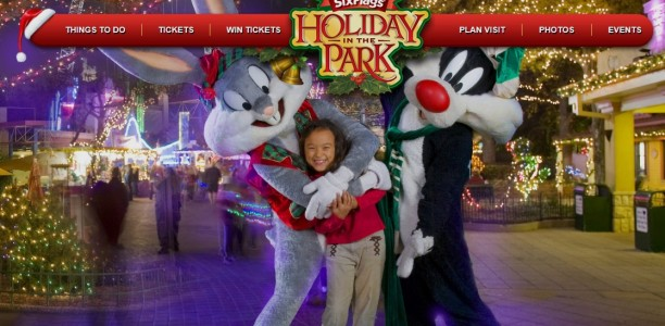 Check out Holiday in the Park this winter at Six Flags! @SFOverGeorgia #UVerseWishList