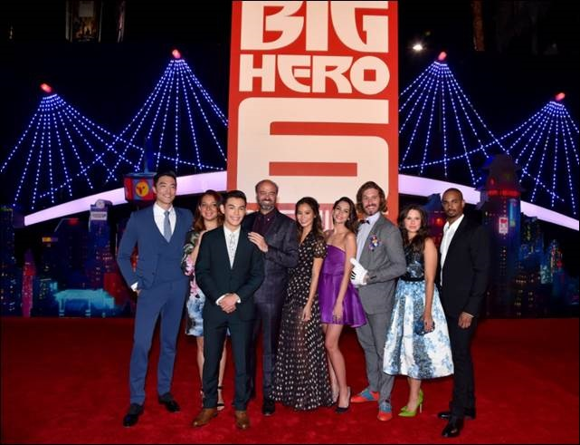 big hero 6group