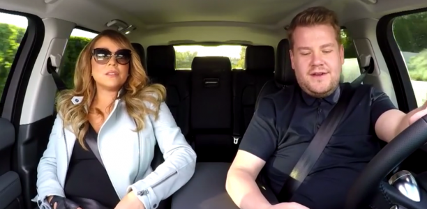 WATCH: Mariah Carey Sing Carpool Karaoke Of Her Hits