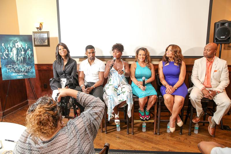 Cast of HAHN and LTN doing QA