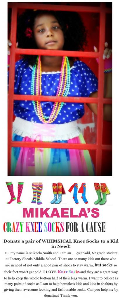 Mikaela CrazyKnee Socks