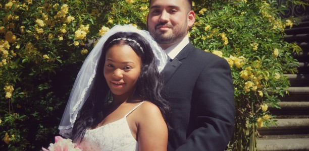 Love Across Colorlines: Kaelani and Michael Get Married!