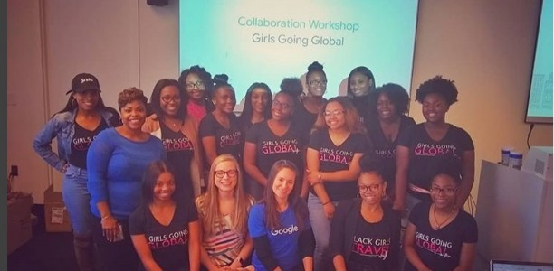 Girls Going Global Visits Google Atlanta